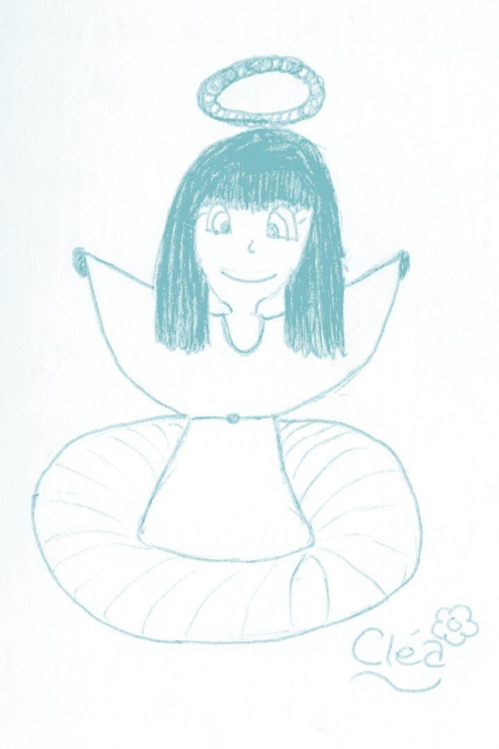 Dessin Ange Cléa