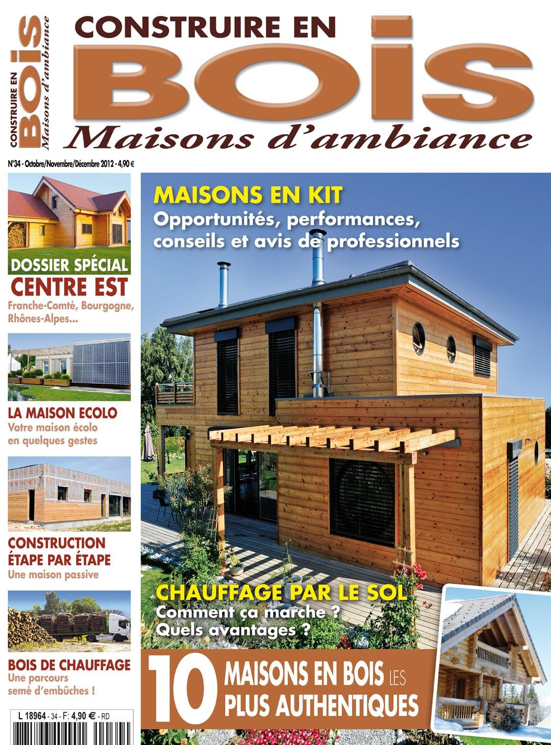 une magazine Construire en bois