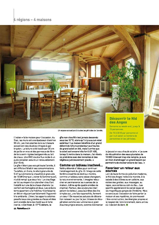 Suite article Habitat Naturel