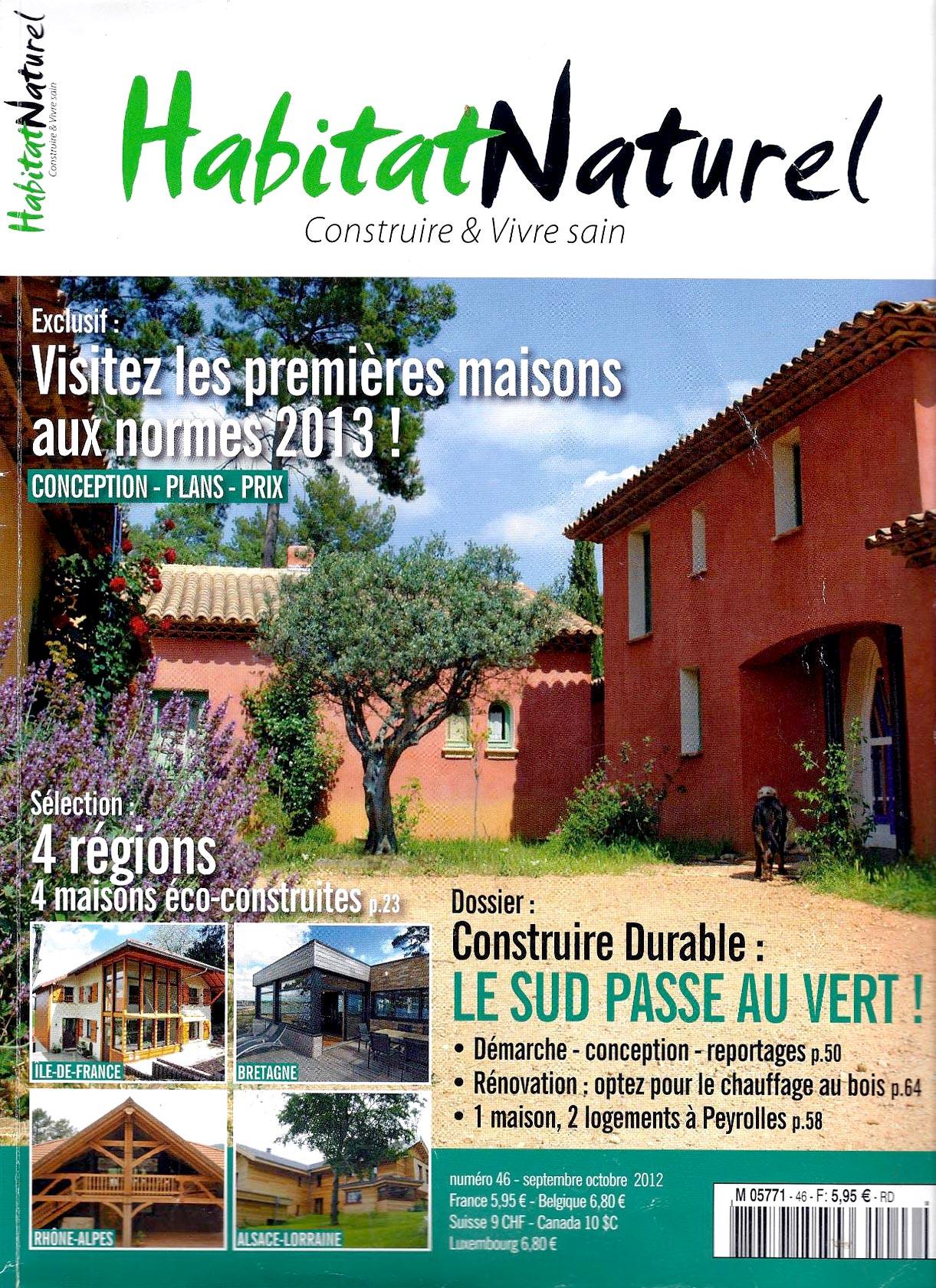 Une magazine Habitat Naturel