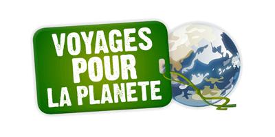 Logo Voyages pour la planète et lien