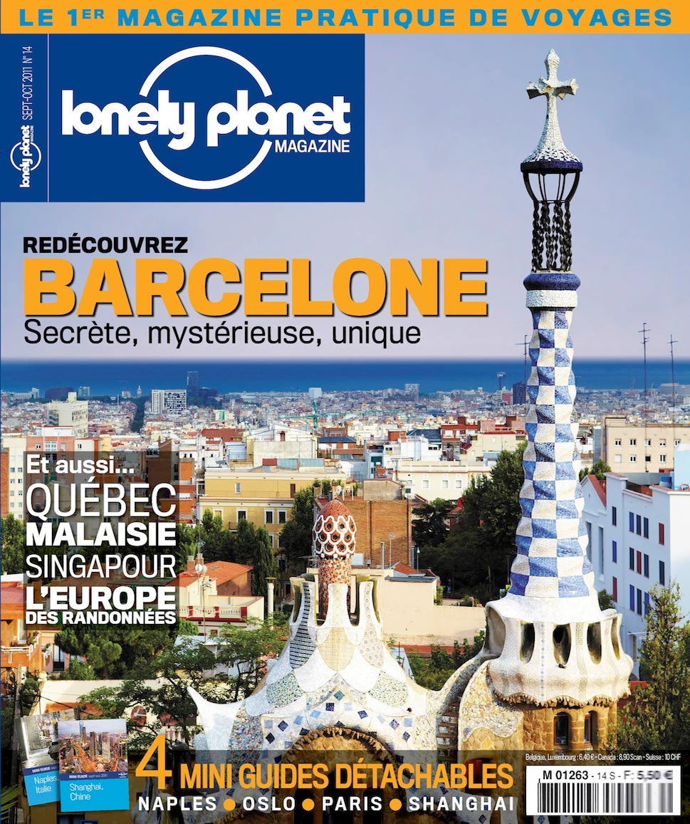 Une magazine Lonely Planet