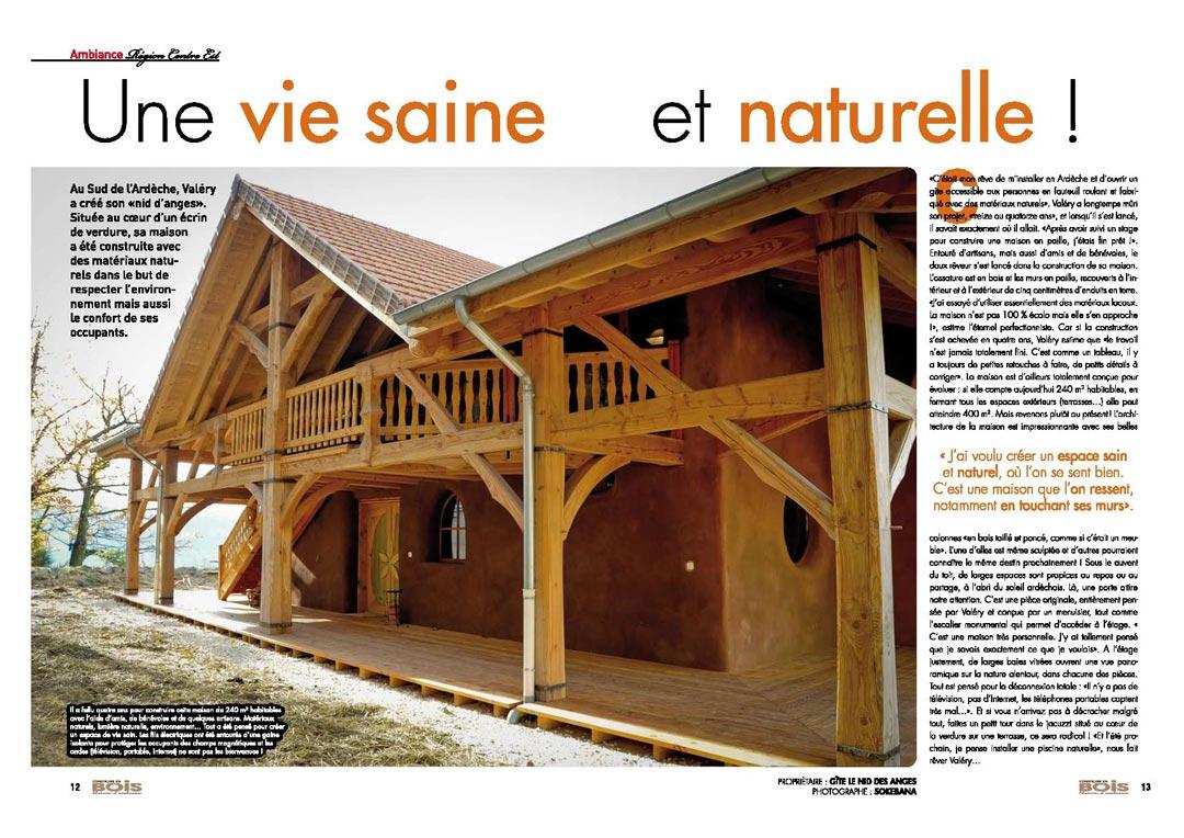 Double page Construire en bois