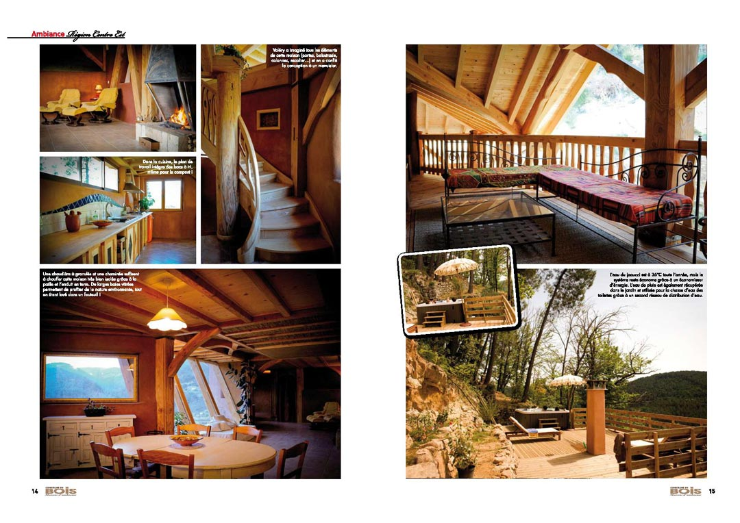 Article Construire en bois