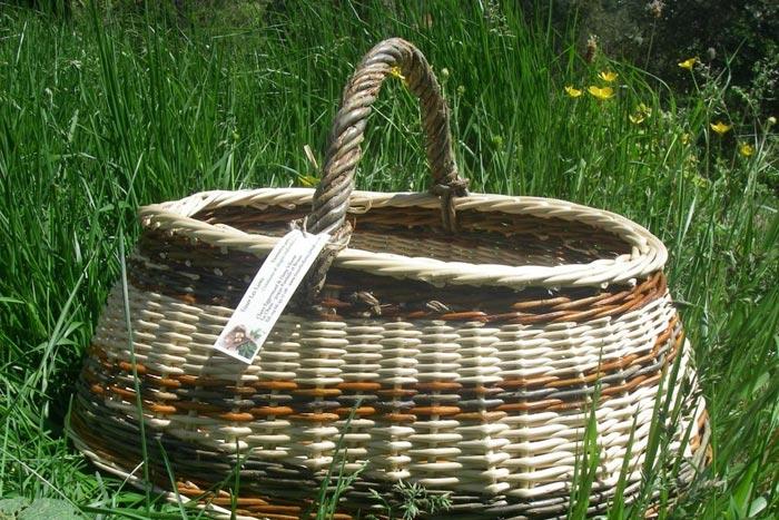 Dany Vilaine… Initiation à la vannerie artisanale