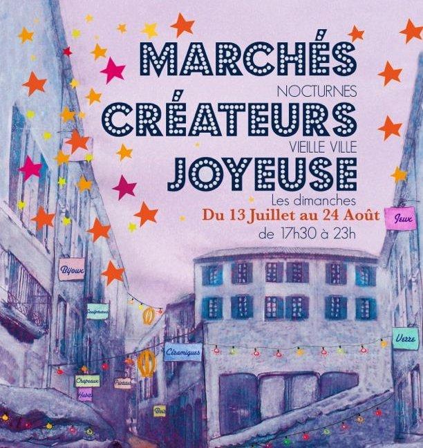 Un marché de créateurs locaux à Joyeuse!!